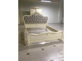 Милано Кровать  сп. м 180*200 изголовье - ткань со стяжками фабрика M&K Furniture, Китай